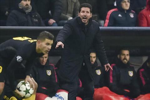 Atletico thua tran HLV Diego Simeone van hai long hinh anh 2