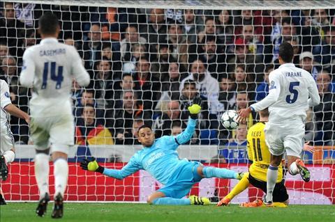 Real 2-2 Dortmund Khi Zidane biet the nao la xui xeo hinh anh 2