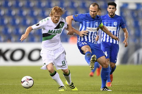 Nhan dinh Sassuolo vs Genk 01h00 ngay 912 (Europa League 201617) hinh anh