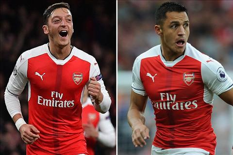 Quan diem Arsenal nen uu tien giu chan Sanchez hon la Ozil! hinh anh
