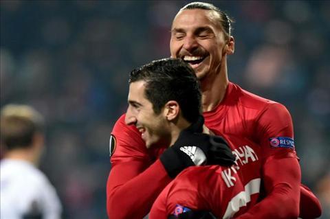 Mourinho tiep tuc danh loi khen cho Mkhitaryan hinh anh