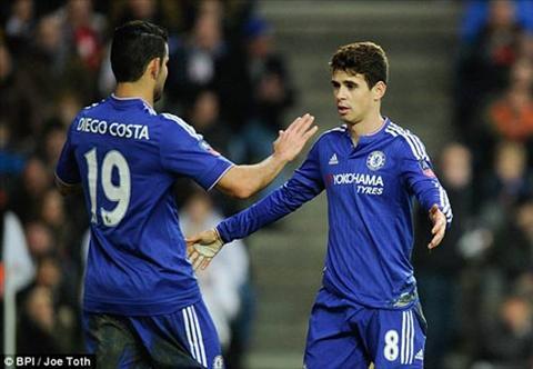Oscar la cau thu choi hay nhat cua Chelsea voi cu hattrick