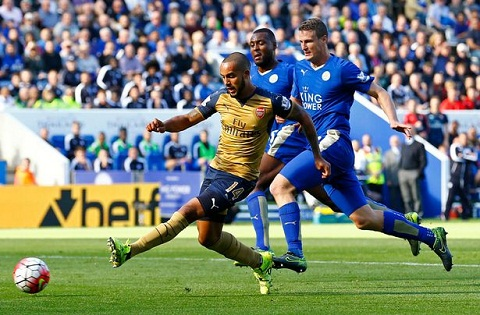 Truoc vong 26 Premier League: Arsenal co can noi Leicester?