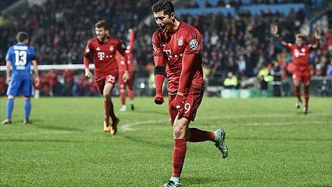 Video clip ban thang Bochum 0-3 Bayern Munich (Cup Quoc gia Duc 20152016) hinh anh