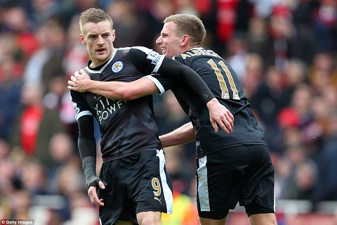Vardy som mang ve ban thang cho Leicester