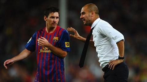 Lam le keo Messi sang Anh, Guardiola bi Barca dan mat hinh anh