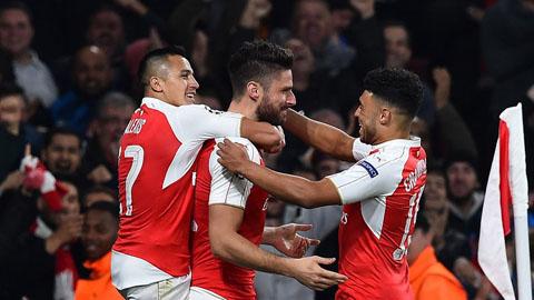 Arsenal vo dich Premier League 201516 dang rat kho khan hinh anh