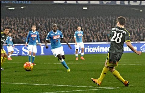 Video clip ban thang Napoli 1-1 AC Milan (Vong 26 Serie A 20152016) hinh anh