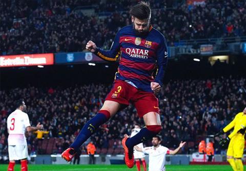 Barca vs Arsenal Pique danh gia cao co hoi vo dich cua Barca hinh anh