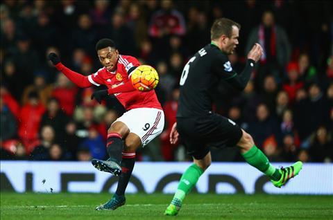 Martial M.U vs Stoke