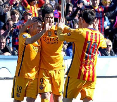 Video clip ban thang Levante 0-2 Barca (Vong 23 La Liga 20152016) hinh anh