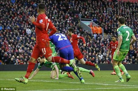 Video clip ban thang Liverpool 2-2 Sunderland (Vong 25 NHA 20152016) hinh anh