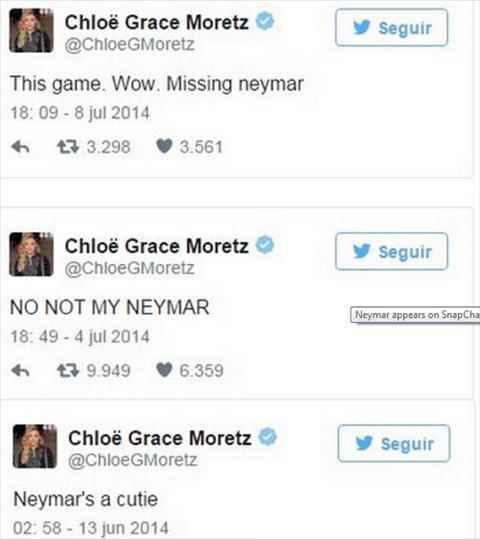 Neymar cap ke voi sao Hollywood hinh anh 2