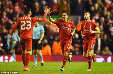 Video clip ban thang Liverpool 2-0 MU (Vong 18 Europa League 20152016) hinh anh