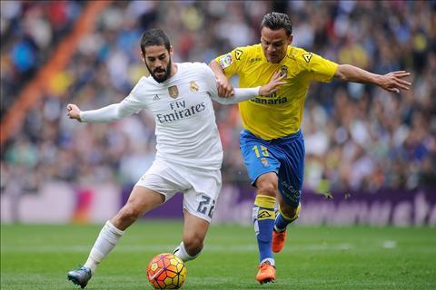 Du am Las Palmas 1-2 Real Madrid Diem sang Casemiro hinh anh