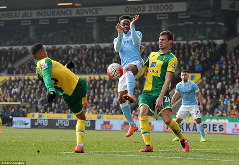 Vong 30 Premier League Norwich 0-0 Man City hinh anh