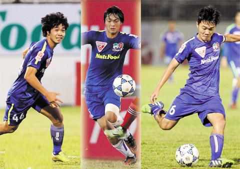 BLV Quang Huy Nen som dua Cong Phuong, Tuan Anh, Xuan Truong ve hinh anh