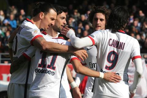 PSG vo dich Ligue 1 201516 voi hang loat ky luc hinh anh