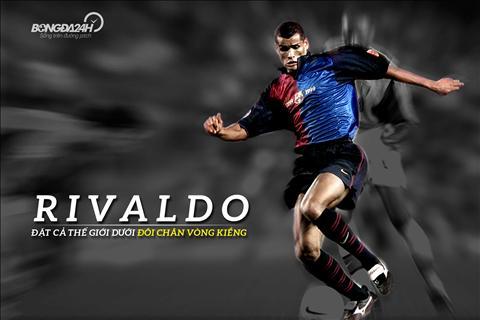 Tien ve Rivaldo cua Brazil voi cau chuyen ve doi chan vong kieng hinh anh