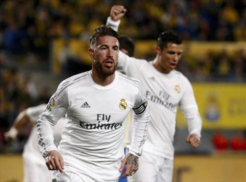 Video clip ban thang Las Palmas 1-2 Real Madrid (Vong 29 La Liga 20152016) hinh anh