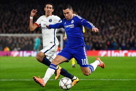 Hazard Chelsea vs PSG