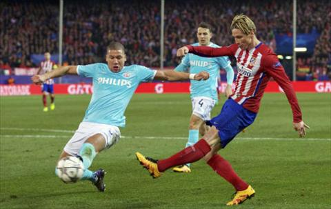 Video clip ban thang Atletico 0-0 (0-0, pen 8-7) PSV (Vong 18 Champions League 201516) hinh anh