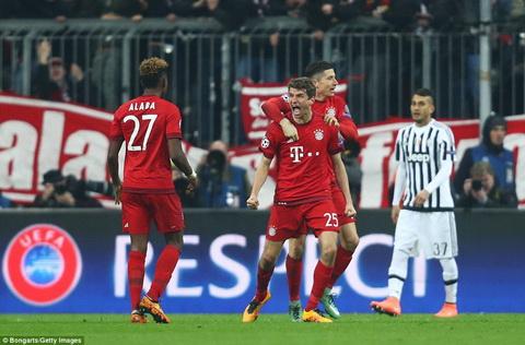 Vong 18 Champions League, Bayern lap hai ky luc sieu khung hinh anh