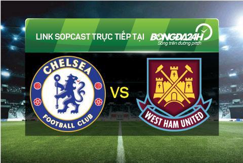 Link sopcast xem truc tiep Chelsea vs West Ham (22h00-1903) hinh anh