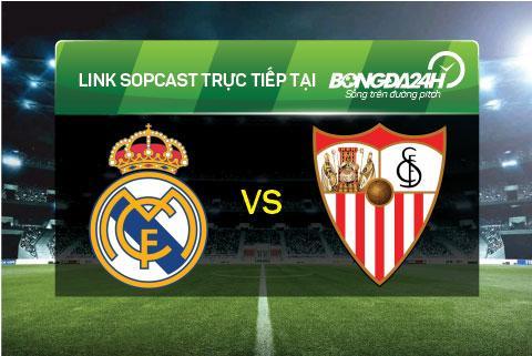 Link sopcast xem truc tiep Real Madrid vs Sevilla (02h30-2103) hinh anh