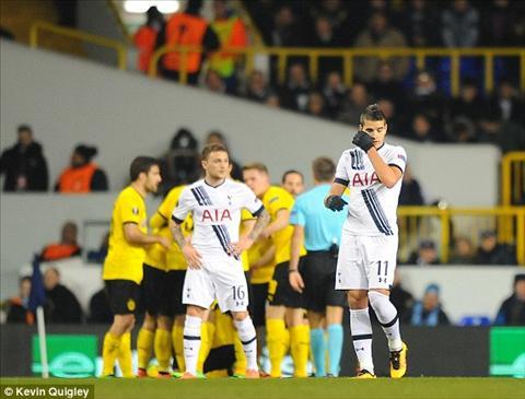 Tottenham 1-2 (1-5) Dortmund Lam thit Ga trong, Vang Den hien ngang vao tu ket hinh anh 5
