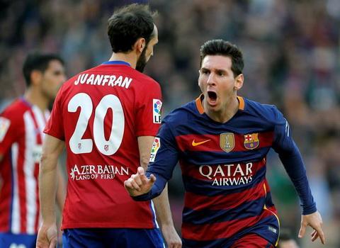 Tuyen tap 25 ban thang vao luoi Atletico Madrid cua ngoi sao Lionel Messi hinh anh