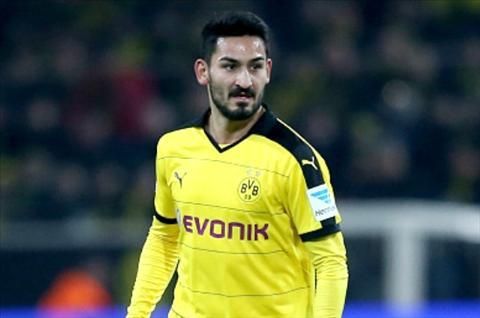 Dortmund mat tien ve Gundogan truoc tran dau voi Liverpool hinh anh