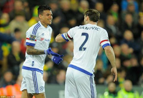 Video clip ban thang Norwich 1-2 Chelsea (Vong 28 Premier League 201516) hinh anh