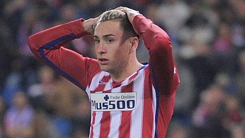 Thua Gijon, Atletico con mat them tru cot hinh anh