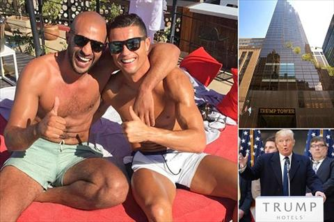 Ronaldo bi lo tin don mua nha tang ban trai Hari hinh anh