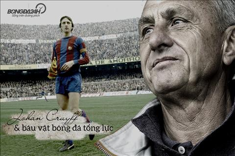 Johan Cruyff va di san bong da tong luc