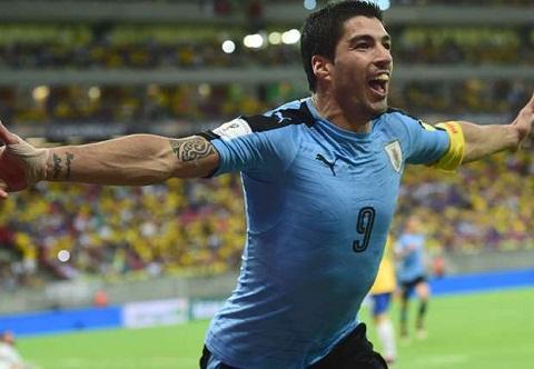Dani Alves so phai doi mat voi tien dao Luis Suarez hinh anh