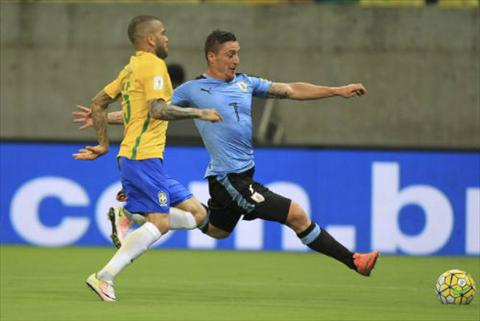 Video clip ban thang Brazil 2-2 Uruguay (Vong loai World Cup 2018) hinh anh