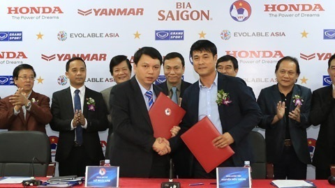 Huu Thang dan dat U23 & DT Viet Nam Doi via thay noi hinh anh 2