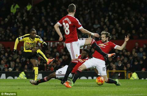 Video clip ban thang Man Utd 1-0 Watford (Vong 28 Premier League 201516) hinh anh