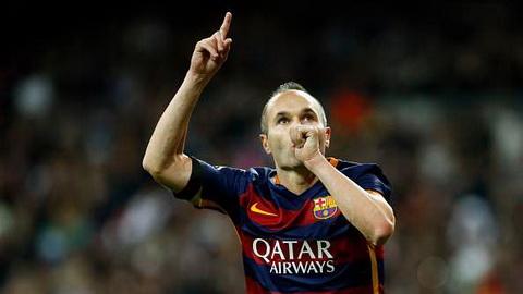 Iniesta That may la El Clasico khong co hinh bong Mourinho hinh anh