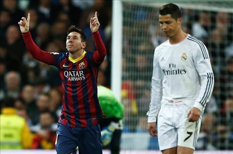 Tien ve Barca danh gia Messi van tren tam Ronaldo hinh anh