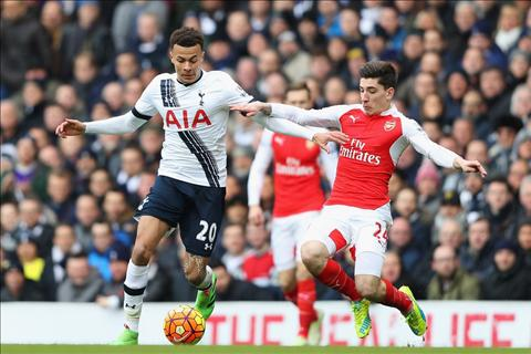 Alli Tottenham 2-2 Arsenal