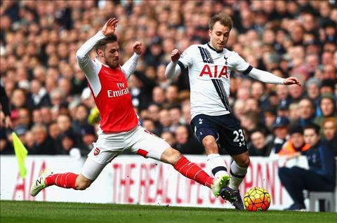 Ramsey Tottenham vs Arsenal
