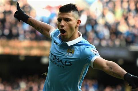 Vua pha luoi Premier League 201516 Vardy sa sut, Aguero tang toc hinh anh