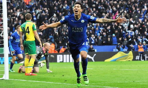 Fan Leicester an mung gay ra  dong dat hinh anh