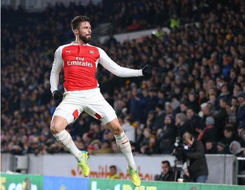Hull City 0-4 Arsenal Song sat Walcott-Giroud ruc sang, Phao thu hien ngang vao Tu ket FA cup hinh anh