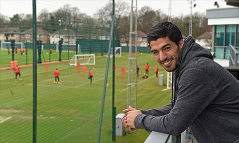 Tien dao Luis Suarez quay ve tham mai nha xua Liverpool hinh anh
