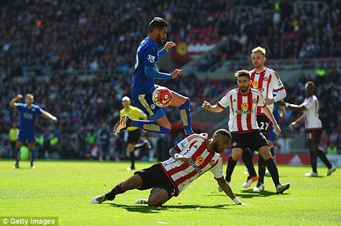 Du am tran Sunderland 0-2 Leicester hinh anh 2