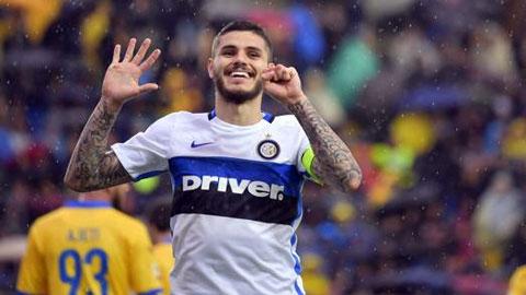 Frosinone 0-1 Inter Milan Thang loi may man hinh anh